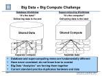 big data big compute challenge