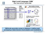high level language d4m http www mit edu kepner d4m