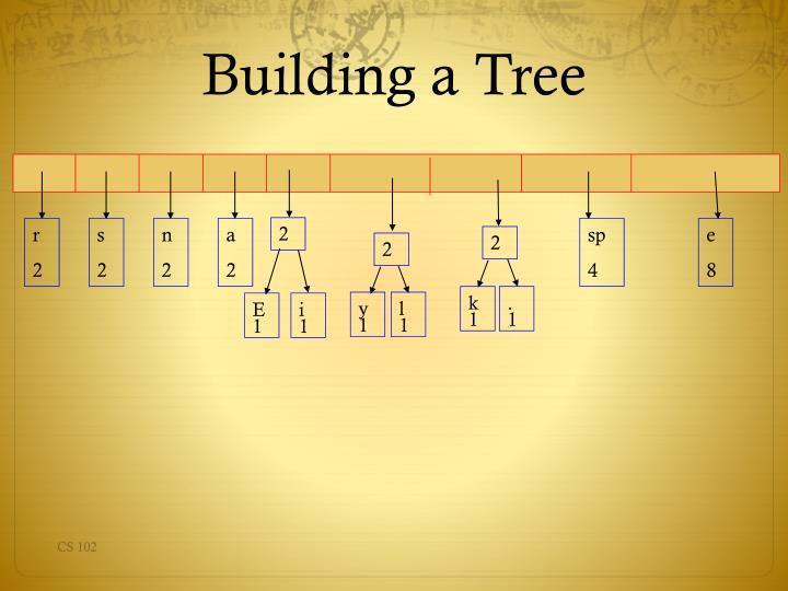 Building a Tree