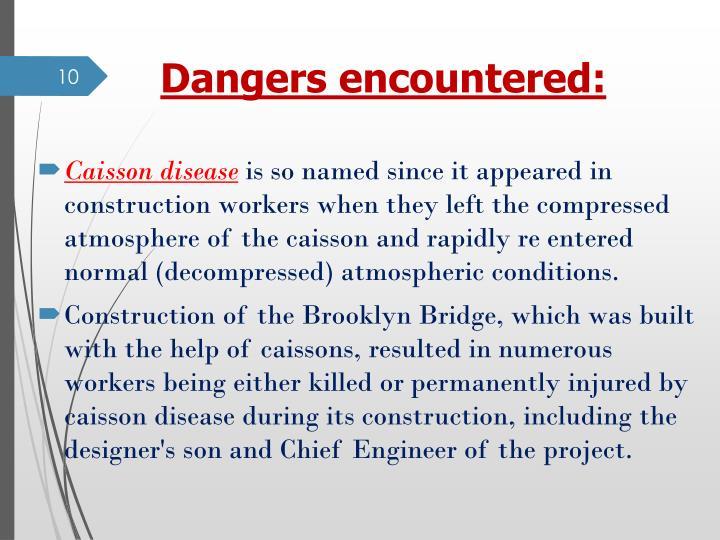 caisson disease