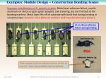 examples module design construction bonding issues2