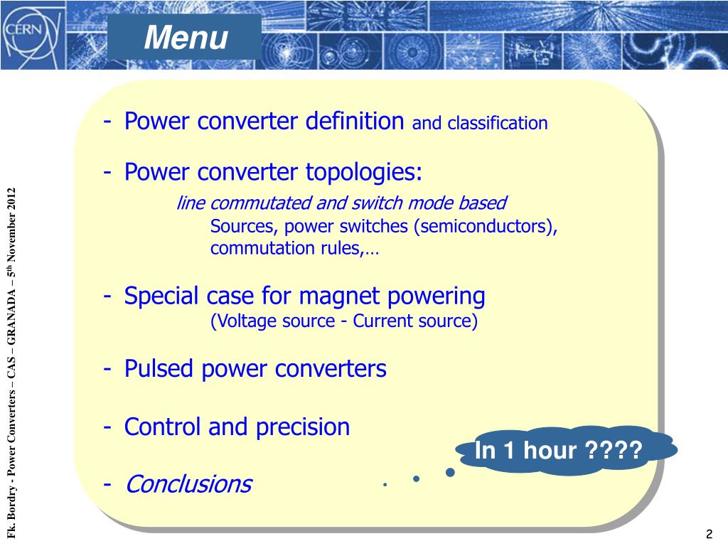 Classification Of Power Converters