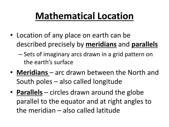 Mathematical Location