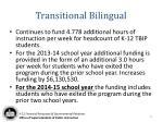 transitional bilingual