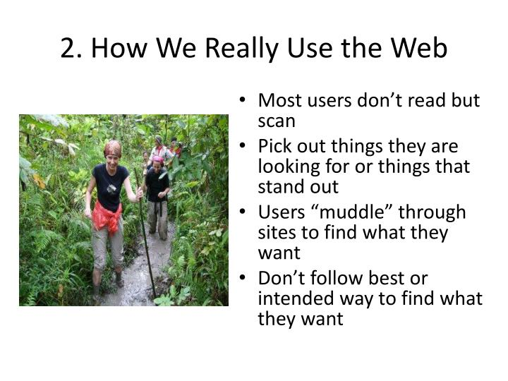 2 how we really use the web