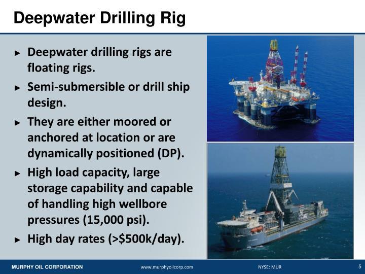 Deepwater Drilling Rig