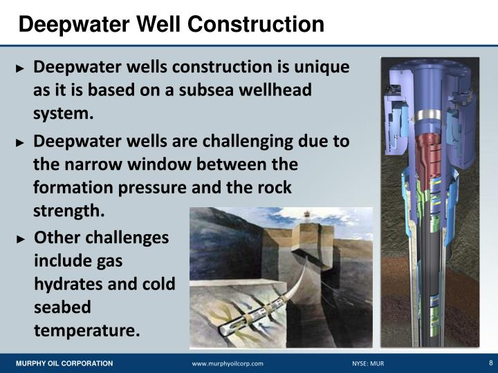 Deepwater Well Construction