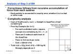 analysis of step 3 of bh