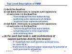 top level description of fmm2