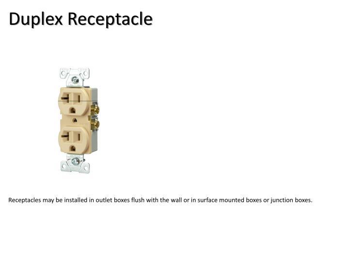 Duplex Receptacle