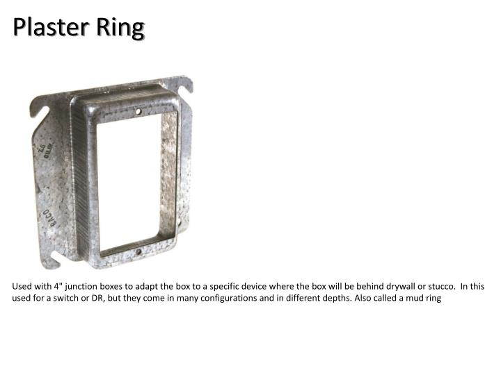 Plaster Ring