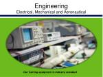 engineering electrical mechanical and aeronautical