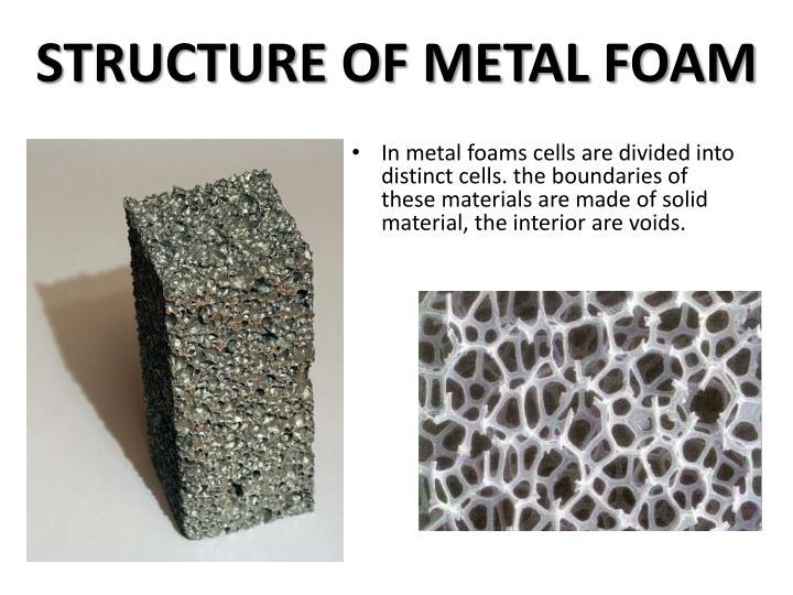 ppt metal foam powerpoint presentation id 1540877. Black Bedroom Furniture Sets. Home Design Ideas