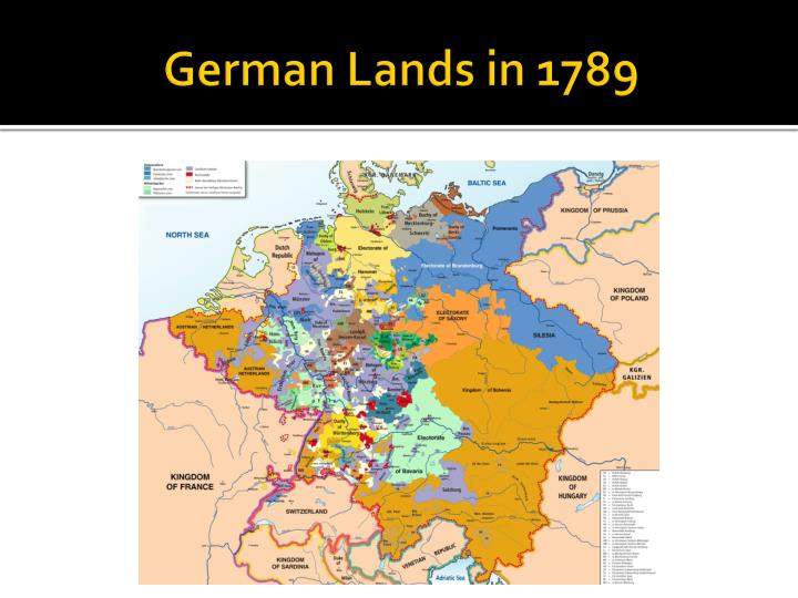 German Lands in 1789