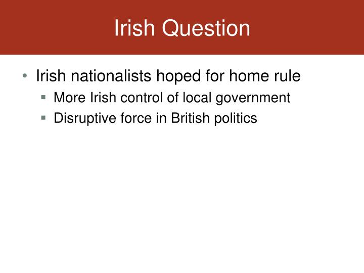 Irish Question