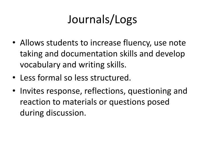 Journals/Logs