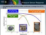pressure sensor response