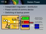 station power