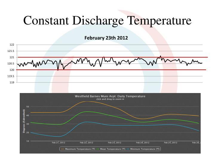 Constant Discharge Temperature