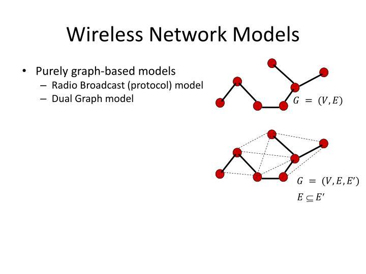 Wireless network models