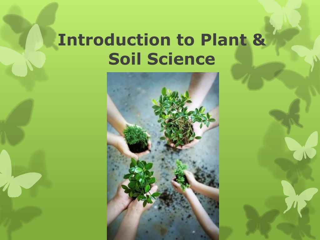 Ppt introduction to plant & soil science powerpoint presentation.