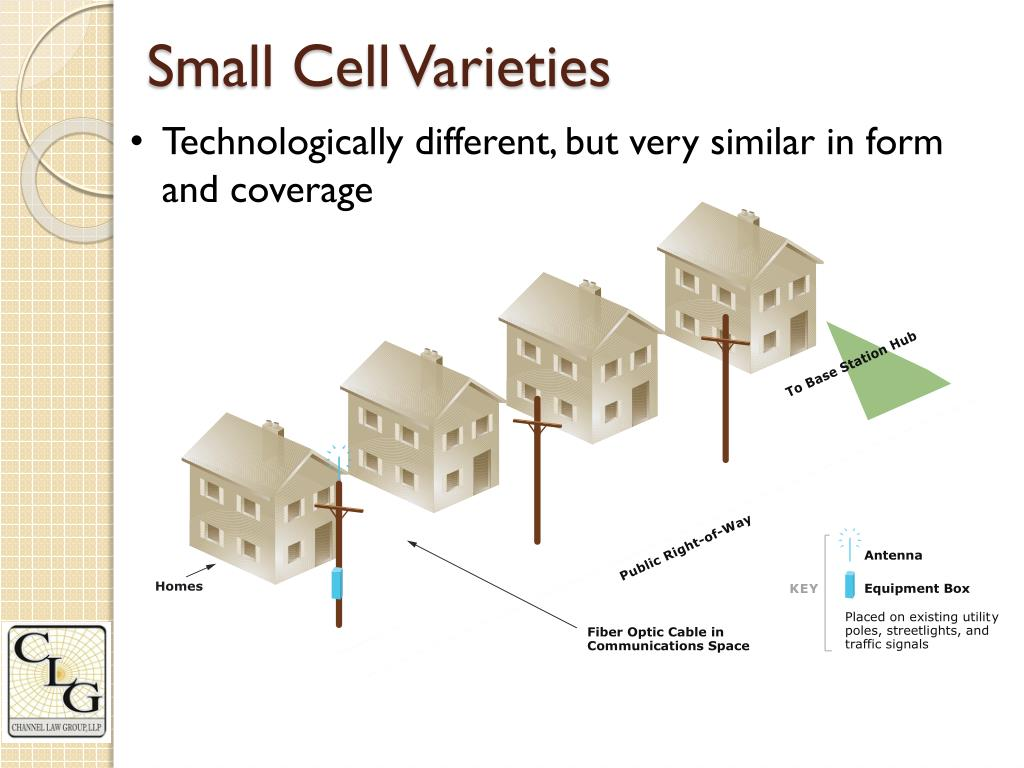 PPT - Small Cell 101: Building wireless in the public right
