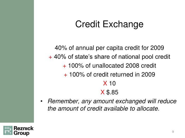 Credit Exchange