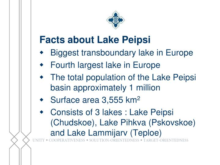 Facts about Lake