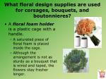 what floral design supplies are used for corsages bouquets and boutonnieres3