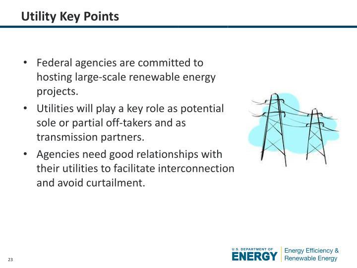 Utility Key Points