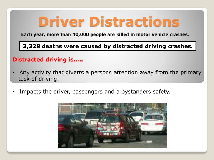 PPT - Driver Distractions PowerPoint Presentation - ID:1541442