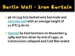 berlin wall iron curtain