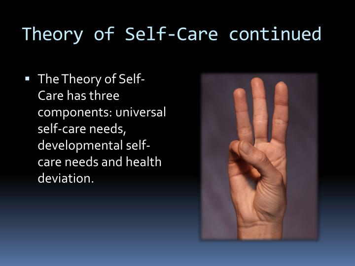 theory of self