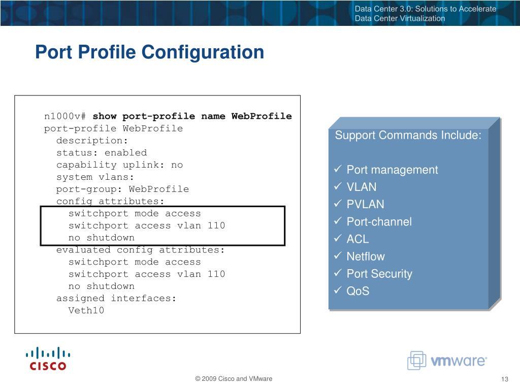 PPT - Accelerating Cloud Computing Infrastructure: Cisco Nexus 1000V