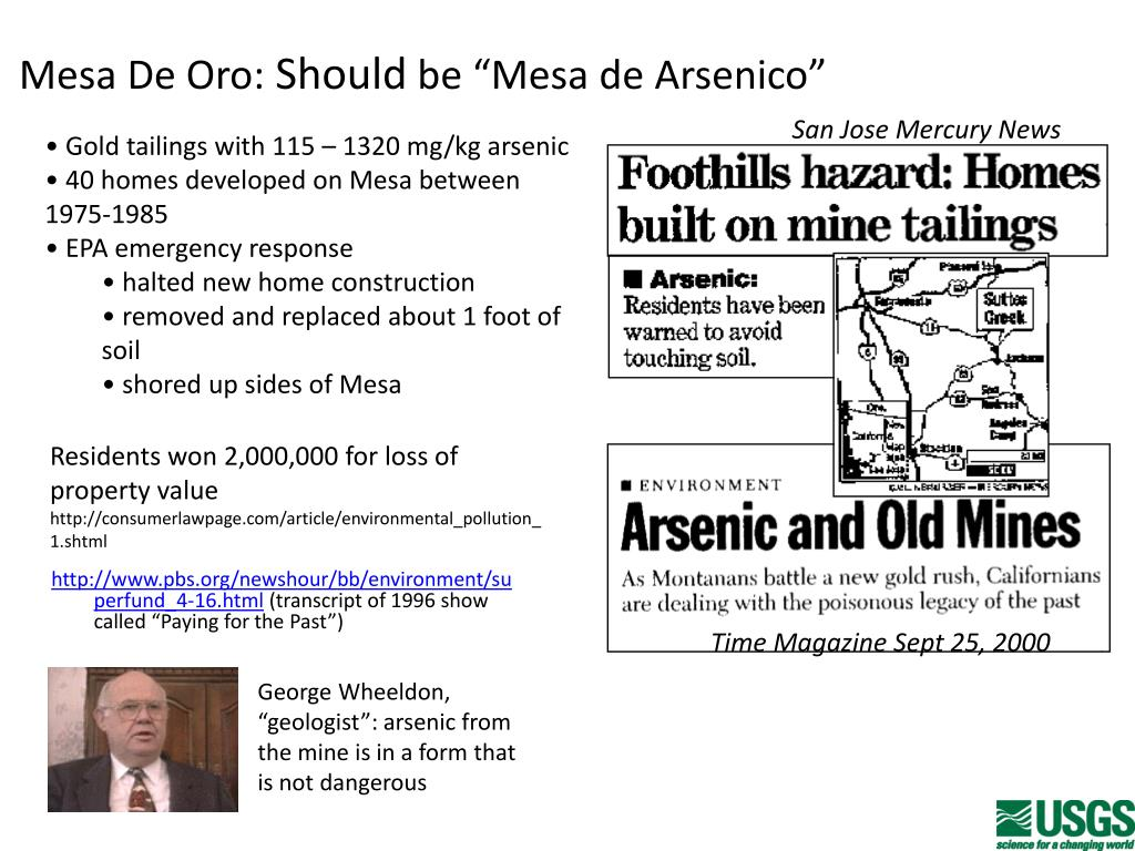 PPT - Identification and Quantification of Arsenic Species in Gold