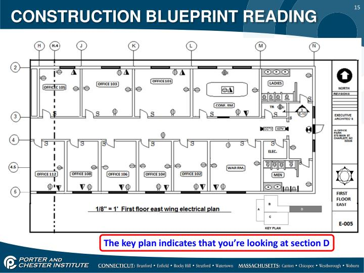Ppt construction blueprint reading powerpoint for Reading framing blueprints