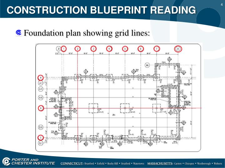 Ppt construction blueprint reading powerpoint for How to read construction blueprints
