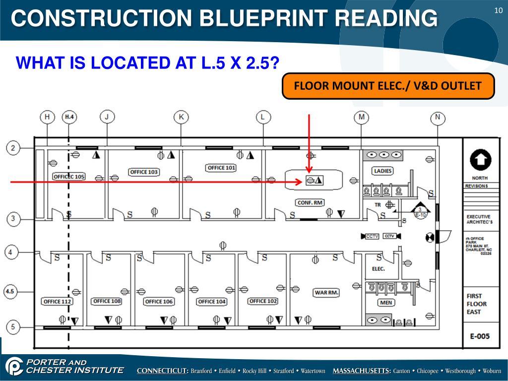 PPT - CONSTRUCTION BLUEPRINT READING PowerPoint Presentation