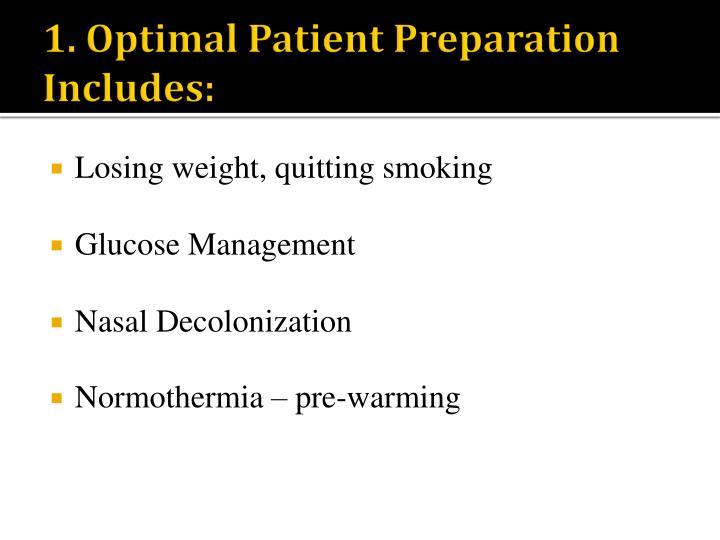 1. Optimal Patient