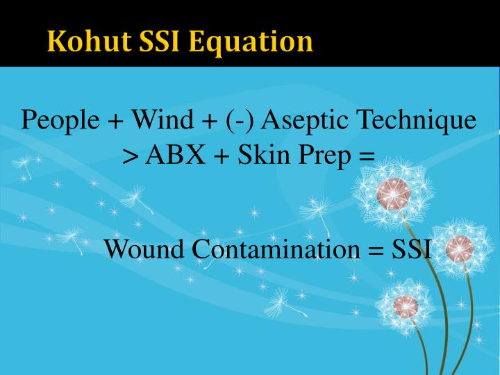 Kohut SSI Equation