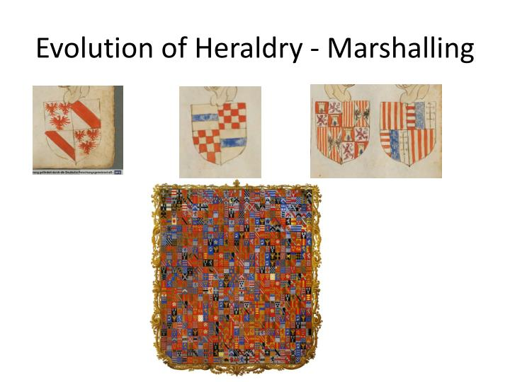 Evolution of Heraldry - Marshalling