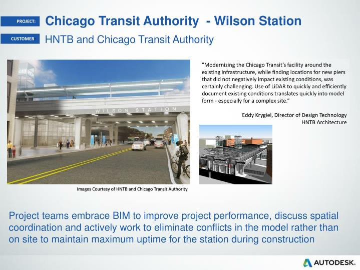 chicago transit authority wilson station n.