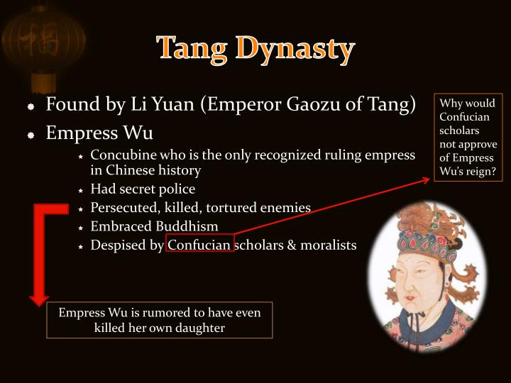 an analysis of buddhism in china before the tang dynasty The great grand canal set the foundation for the great tang dynasty before christianity, buddhism emerged as an spread of buddhism in china.