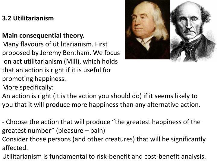 3.2 Utilitarianism