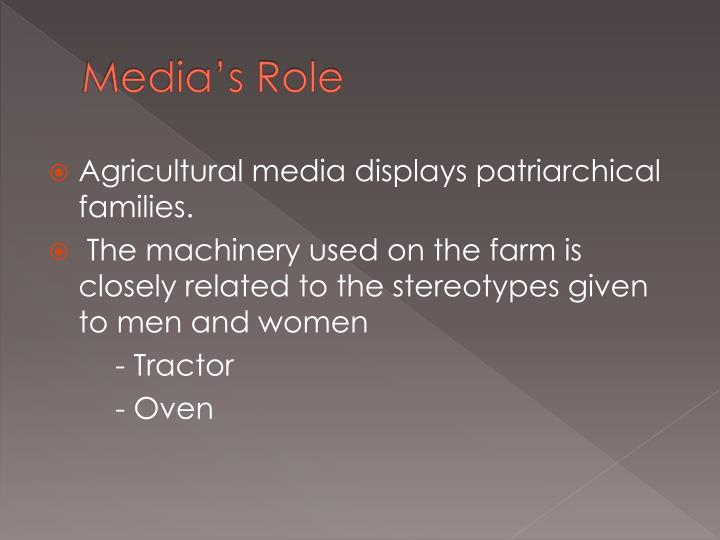Media s role