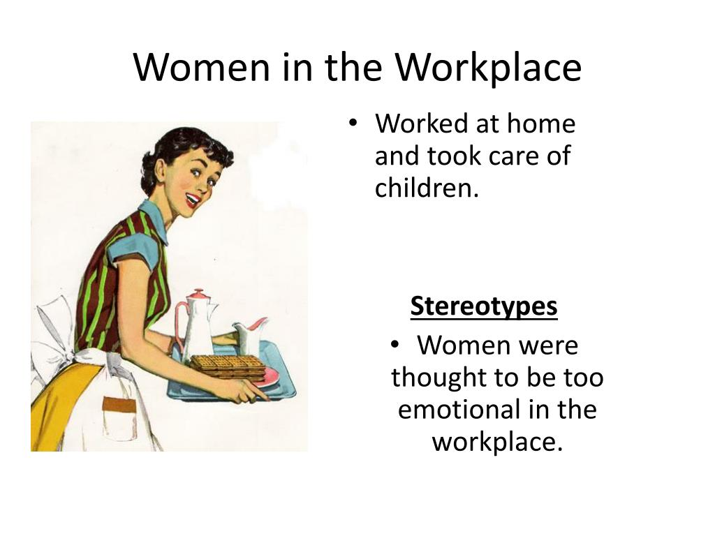 gender roles in workplace