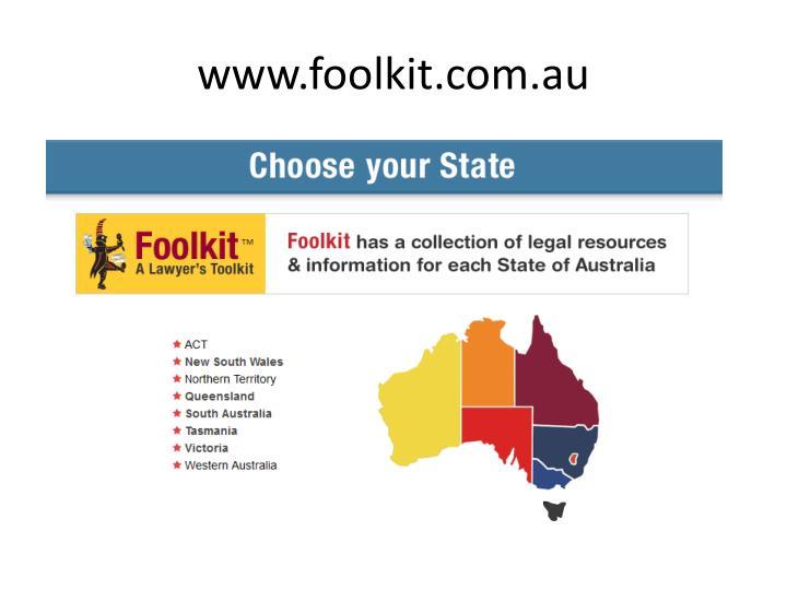 www.foolkit.com.au