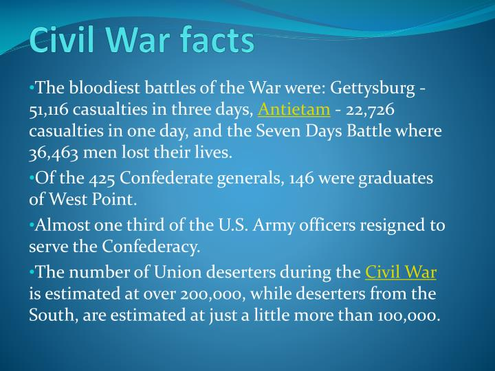 the background information of the bloodies battle of the civil war the battle of gettysburg State facts war war of 1812 civil war world war i world war ii  this year  marks the 150th anniversary of the battle of gettysburg from july 1 – july 3,  1863 the bloodiest battle in the entire american civil war waged around  john  macdonald, the historical atlas of the civil war, new york: chartwell.