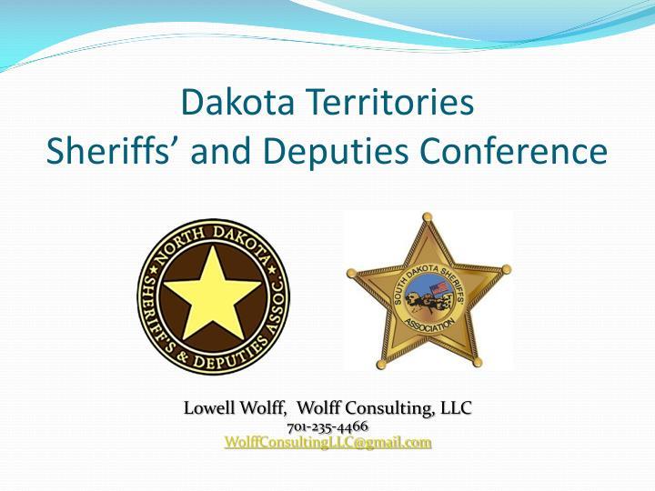 Dakota Territories