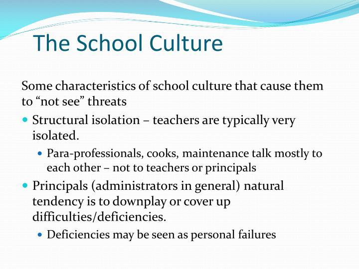 The School Culture